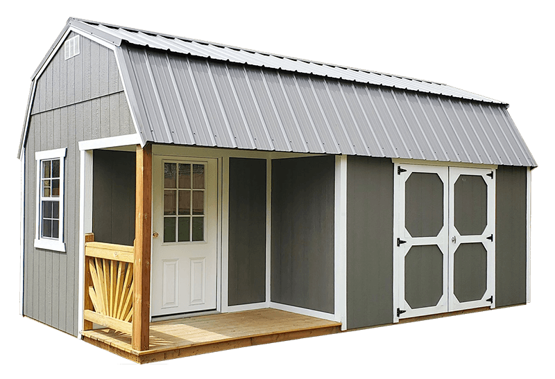 Old Hickory Sheds & Building Lofted Playhouse