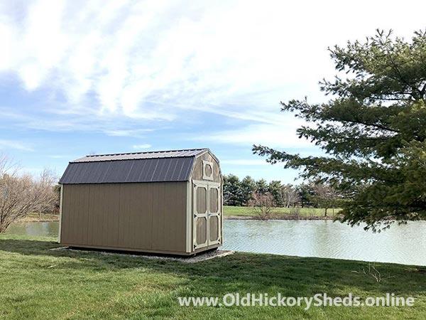 Hickory Sheds Lofted Barn