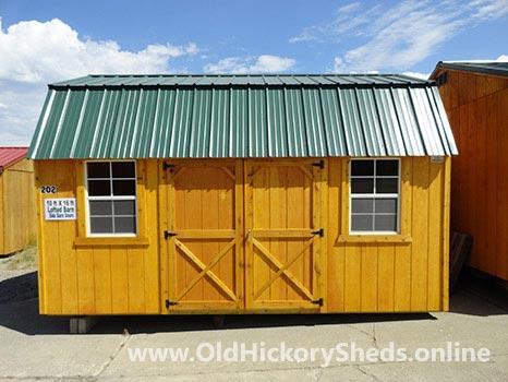 hickory sheds side lofted barn 21 1