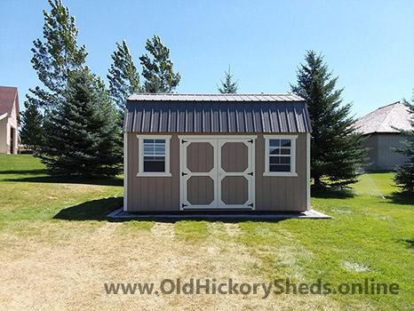Hickory Sheds Side Lofted Barn