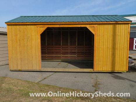 Hickory Sheds Animal Shelter Honey Gold