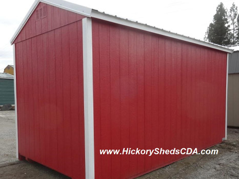 Hickory Sheds Animal Shelter Rear View