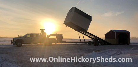 hickory sheds delivery 3