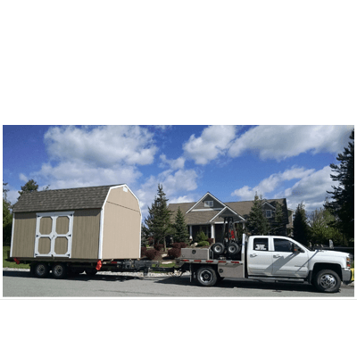 Hickory Sheds Delivery