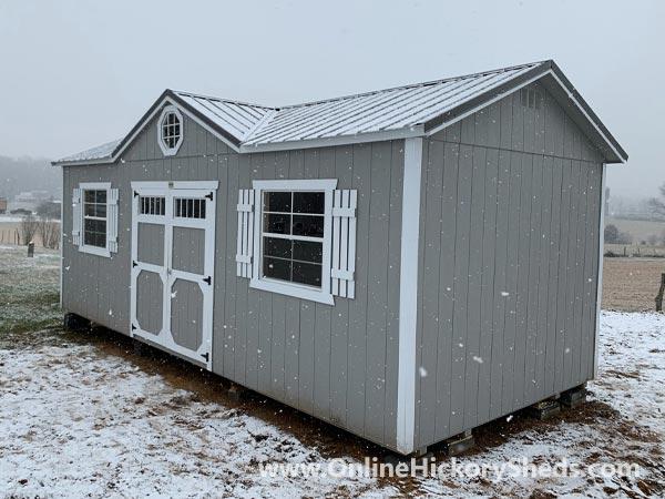 Hickory Sheds Dormer Utility Shed Peaked Dormer