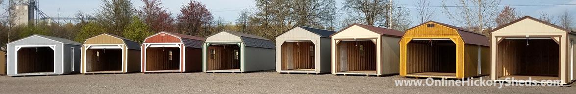 Hickory Sheds Garage Choices