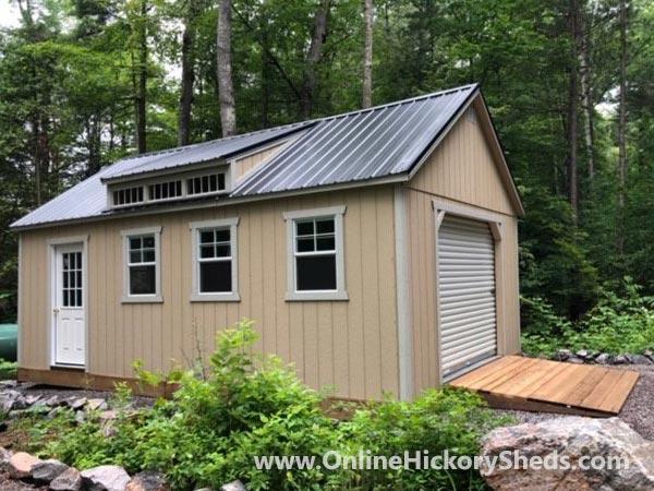 Hickory Sheds Utility Garage Dormer