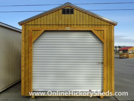 Hickory Sheds Utility Garage T1-11 Pressure-Treated Pine Siding