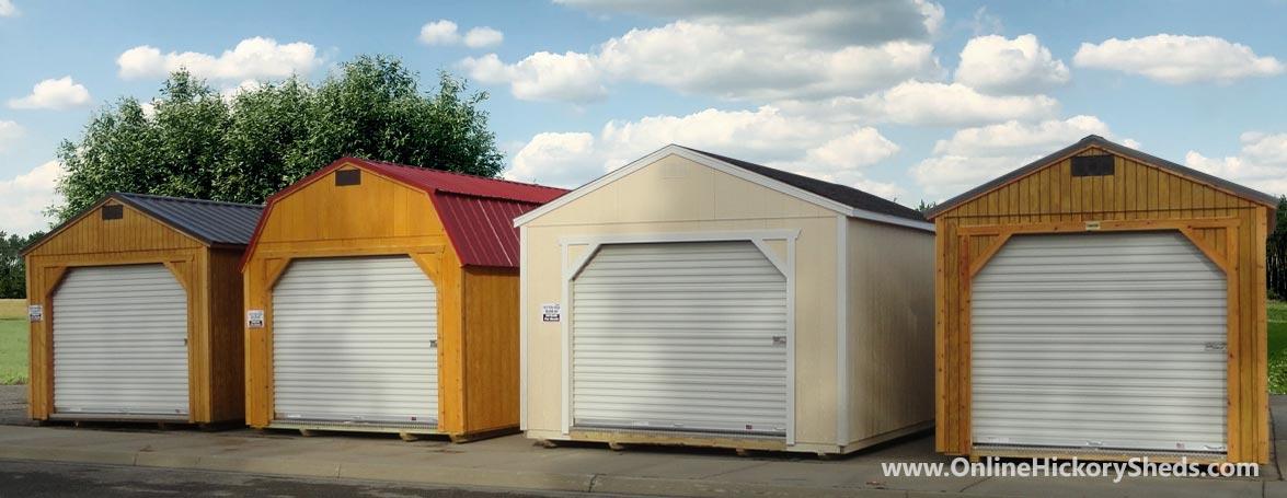 Hickory Sheds Garages