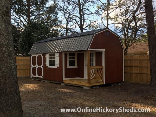 hickory sheds side porch big 4