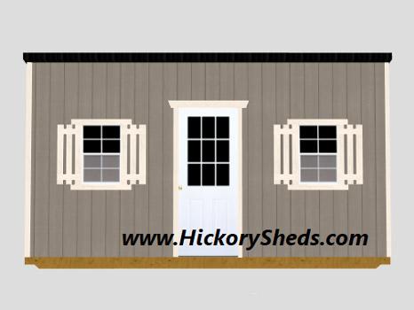 Hickory Sheds Studio Shed