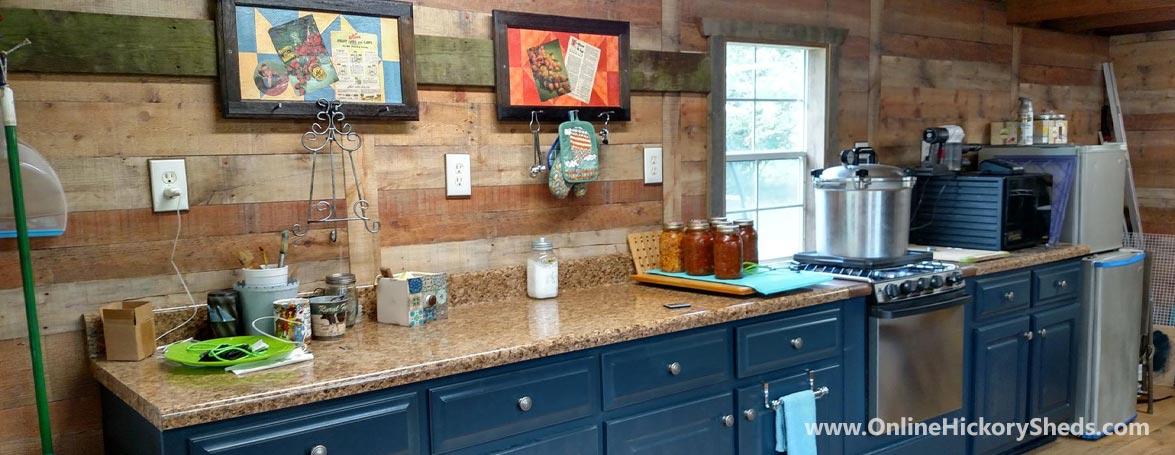 hickory sheds tiny room lofted barn big 9 1