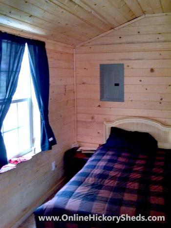 hickory sheds tiny room lofted barn vert 5