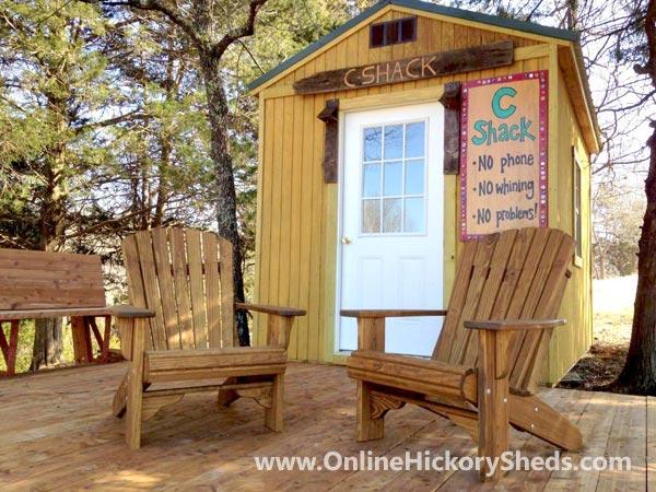 Hickory Sheds Utility Tiny Room Pool House