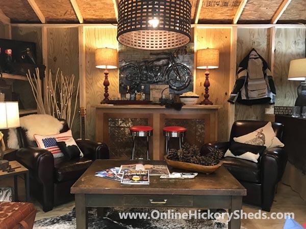 Hickory Sheds Utility Tiny Room Lounge