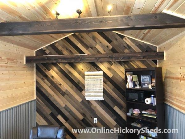 Hickory Sheds Utility Tiny Room Custom Woodwork