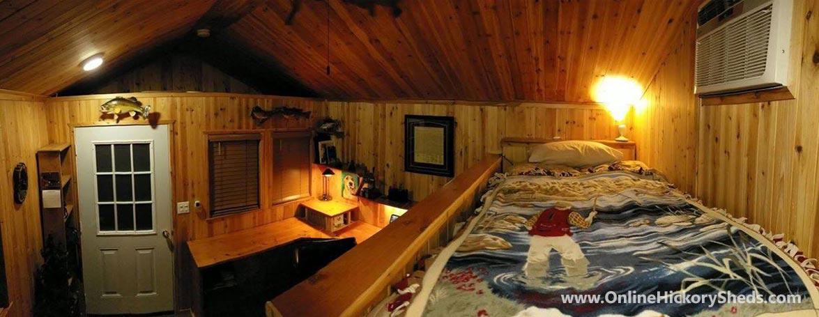 Hickory Sheds Utility Tiny Room Cabin