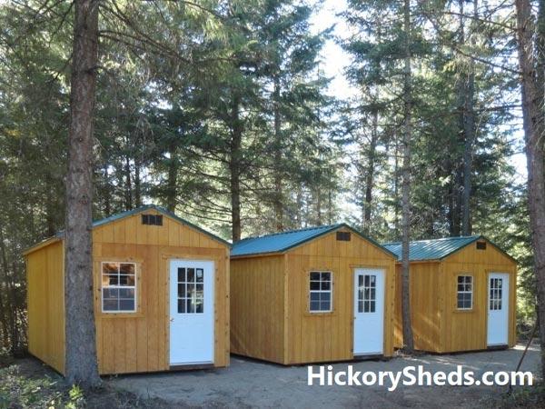 Hickory Sheds Utility Tiny Room Hunting Camp