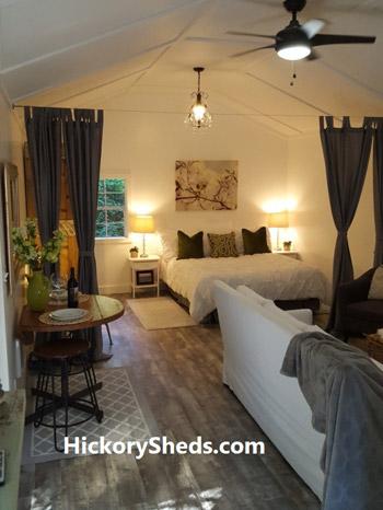 Hickory Sheds Utility Tiny Room Luxury Retreat
