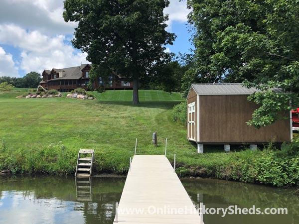 Hickory Sheds Utility Boat Shed