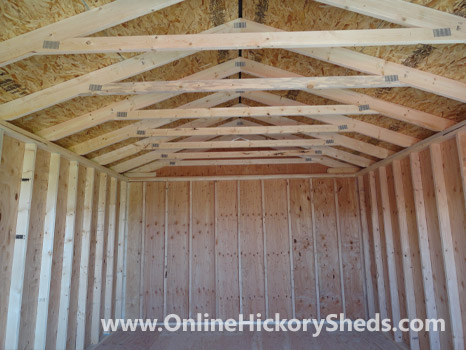 hickory sheds utility shed small 22