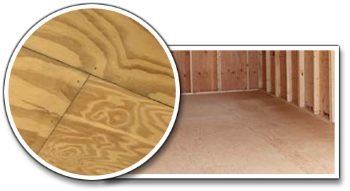 Tongue & Groove Untreated Plywood