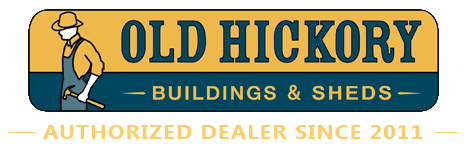 Old Hickory Buildings & Sheds Authorized Dealer Since 2011